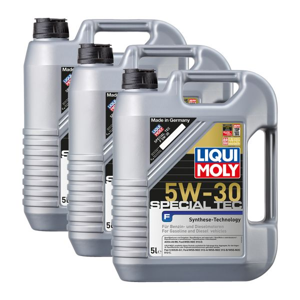 3x liqui moly 3853 special tec f 5w 30 motor l ford 5l. Black Bedroom Furniture Sets. Home Design Ideas