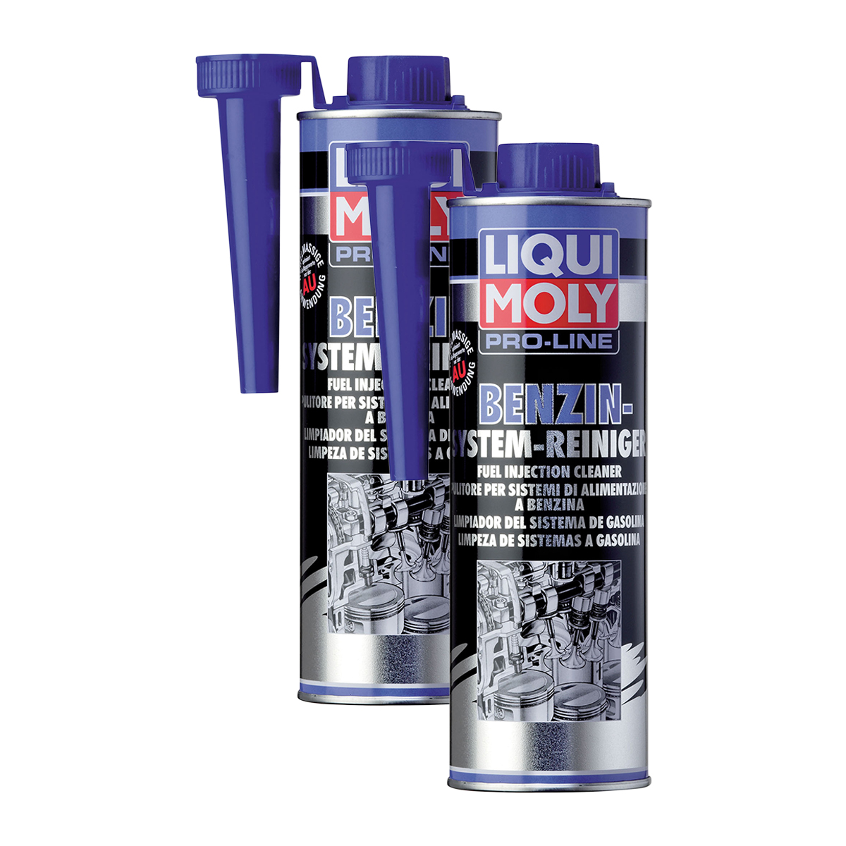 2x liqui moly 5153 pro line benzin system reiniger kraftstoff additiv 500ml. Black Bedroom Furniture Sets. Home Design Ideas