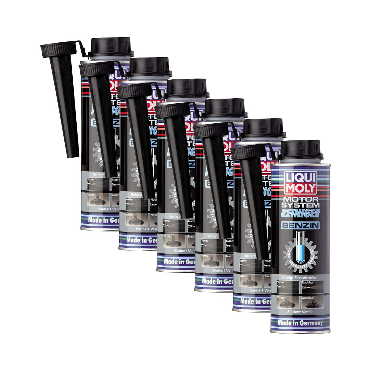 6x liqui moly 5129 motor system reiniger benzin additiv 300ml. Black Bedroom Furniture Sets. Home Design Ideas