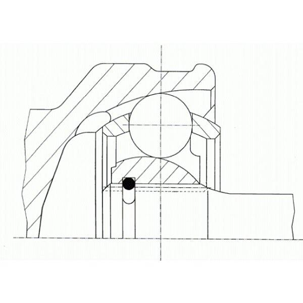 Gelenksatz, Antriebswelle - 23945 SPIDAN
