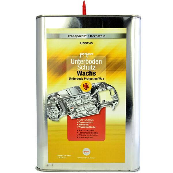 fertan ubs 240 wachs unterbodenschutz transparent spray. Black Bedroom Furniture Sets. Home Design Ideas