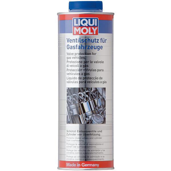 LIQUI MOLY 4012 Ventilschutz für Gasfahrzeuge Ventil-Schutz Additiv 1L