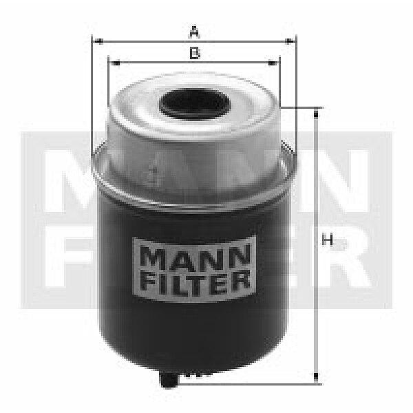 Mann Filter WK8162 Kraftstofffilter