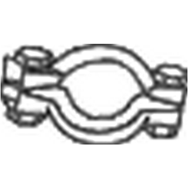 Klemmstück Abgasanlage  BOSAL 254-930