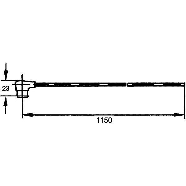 Anschlussleitung, Außenspiegel - 8KA 500 218-002 HELLA