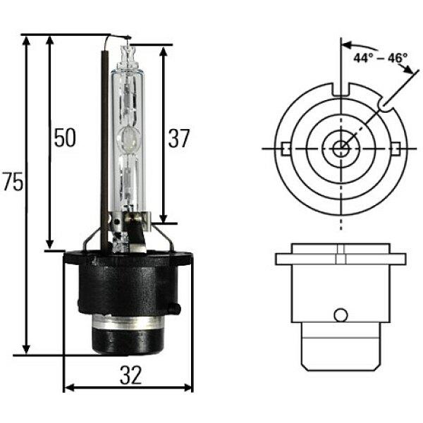 Glühlampe, Arbeitsscheinwerfer - 8GS 007 949-251 HELLA